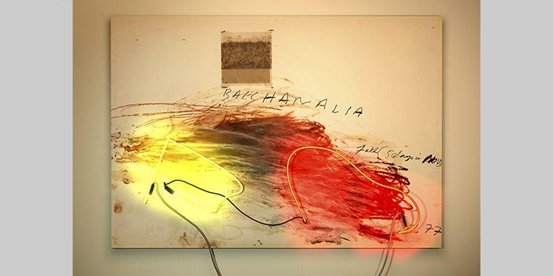 DELETREANDO A CY TWOMBLY (4). YENY CASANUEVA Y ALEJANDRO GONZALEZ. PROYECTO PROCESUAL ART