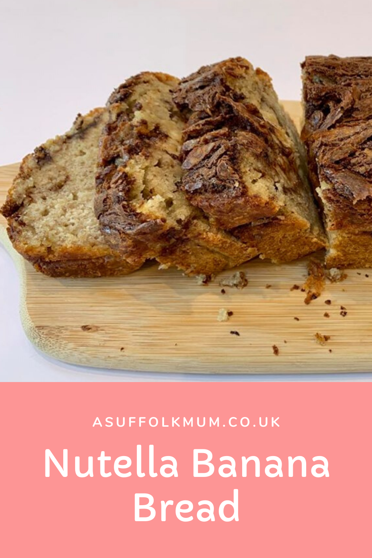Nutella Banana Bread in 2020 | Nutella banana bread ...