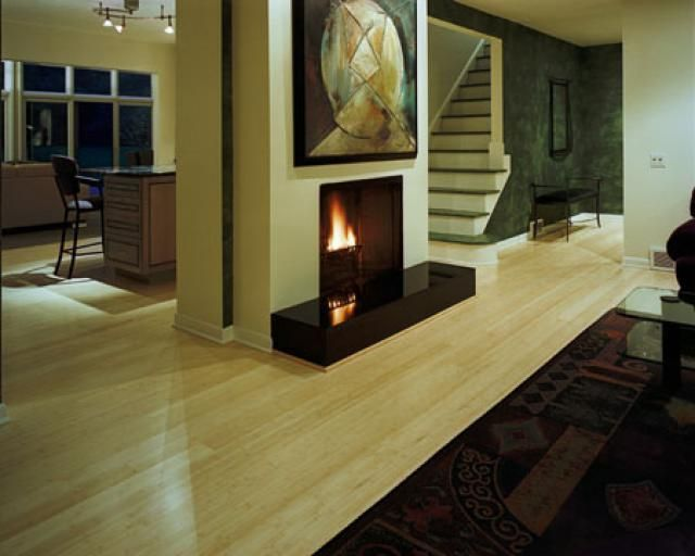 A comparative look at the positive benefits and the negative drawbacks of natural bamboo flooring