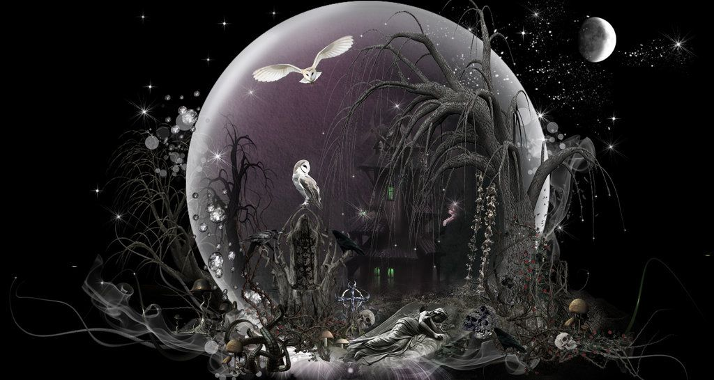 Gothic Fairies Wallpapers Fairy Dust Collection