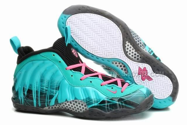 online retailer 9335b fce1d Mens Air Foamposite One Anfernee Hardaway Shoes Pure Crystal Nike .