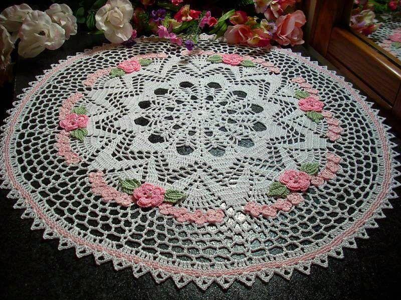 Poinsettia Crochet Doily Free Patterns Diagrams Auto Wiring