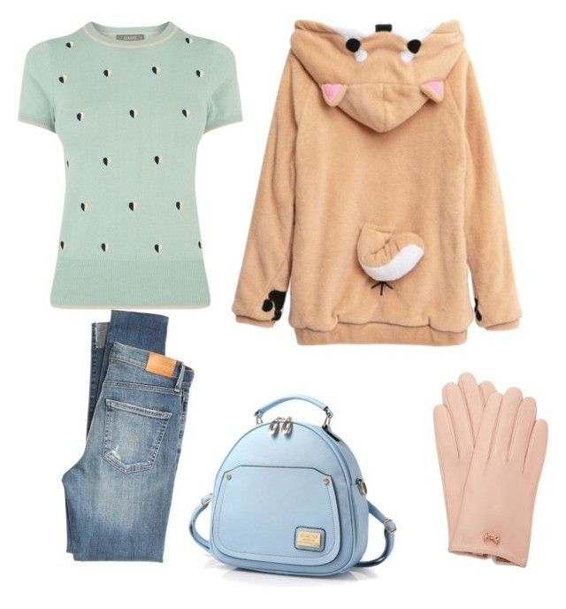 """""""Untitled #38"""" by laylakolo on Polyvore featuring Oasis, Citizens of Humanity and Ted Baker"""