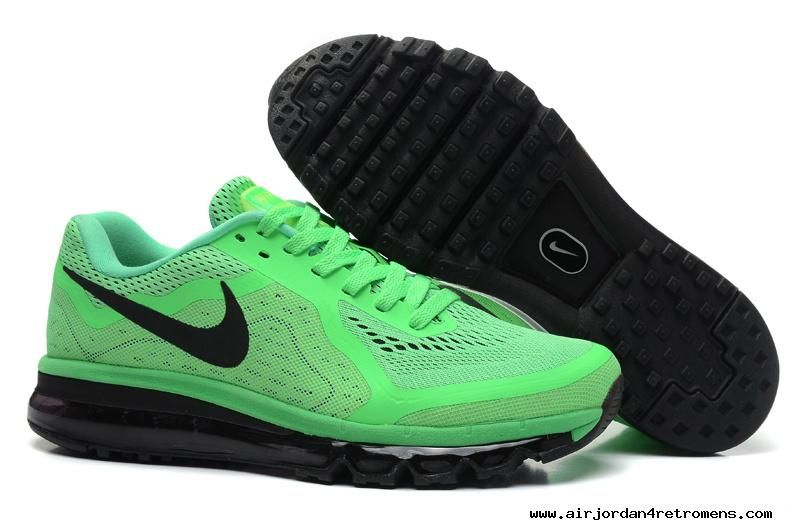 Clearance Nike Air Max 2014 Mens Black Trainers outlet sale