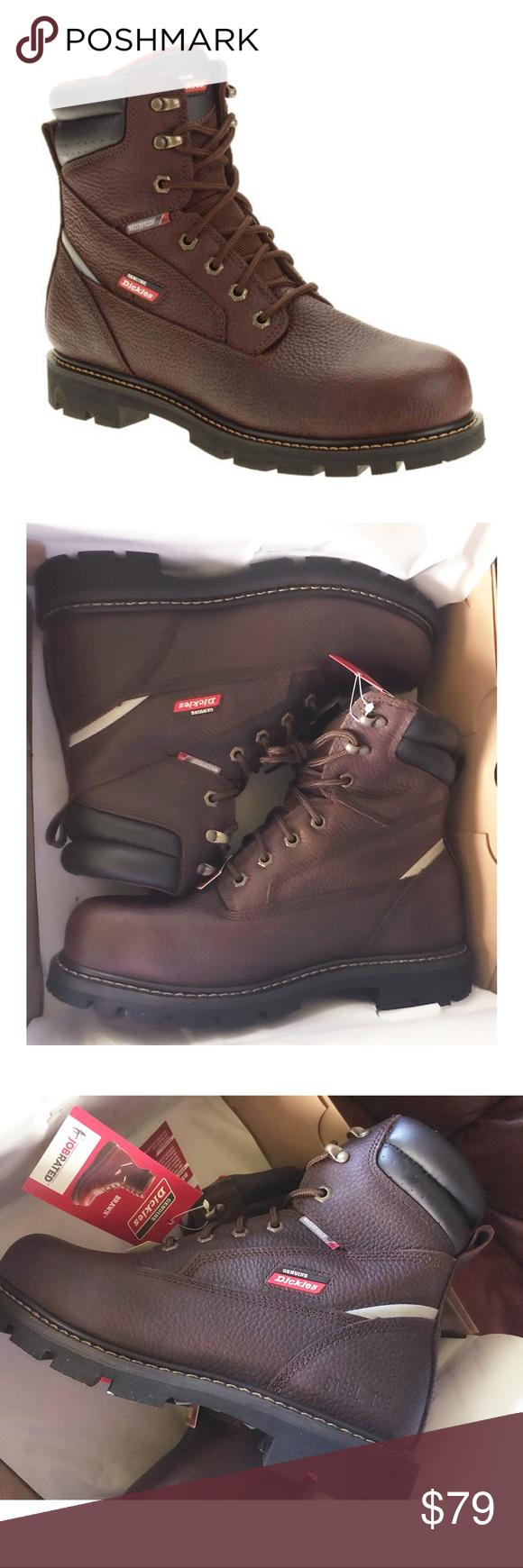 01efb2a9b29 Genuine Dickies Waterproof Job Rated Work Boots Genuine Dickies ...
