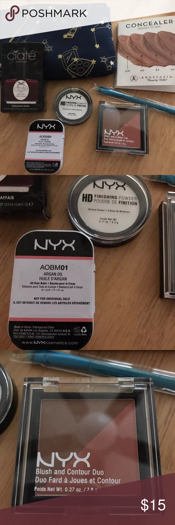 Ipsy Makeup Lot with NYX Products Fantastic lot of new