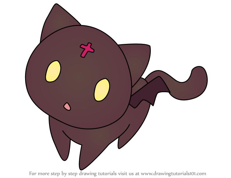 How To Draw Chomusuke From Konosuba Anime Chibi Drawing Tutorial Drawings