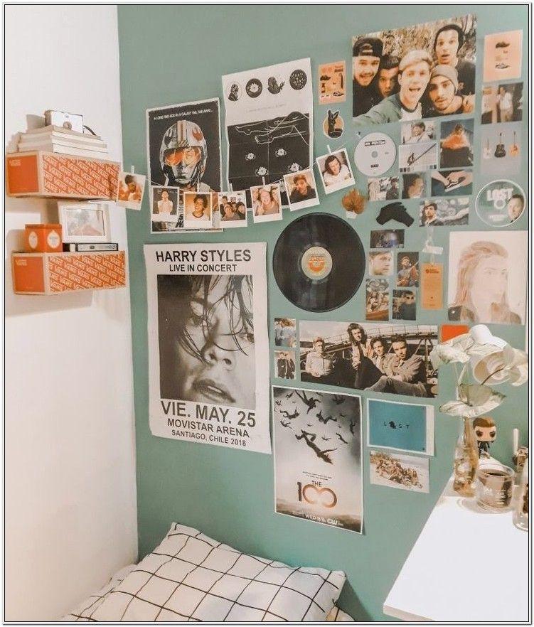 Aesthetic Bedroom Wall Decor Retro Bedrooms Vintage Room Decor Retro Room