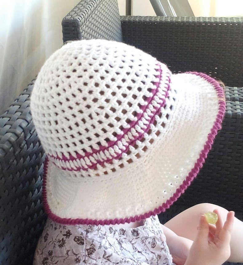 Sommerhut in liebevoller Handarbeit gefertigt. Meine Tochter liebt ...