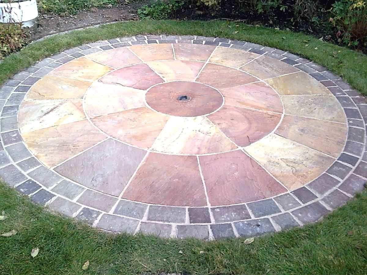 round paver patio designs patio