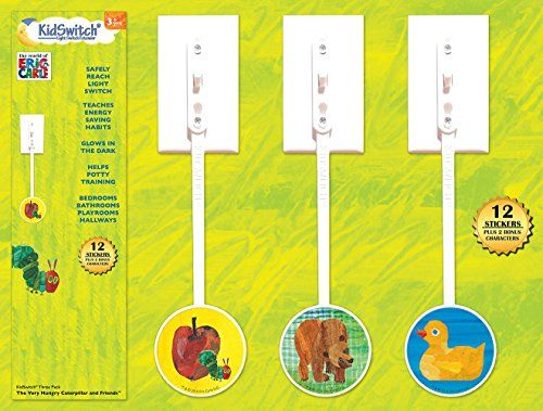 KidSwitch Light Switch Extender 3 Pack The World of Eric