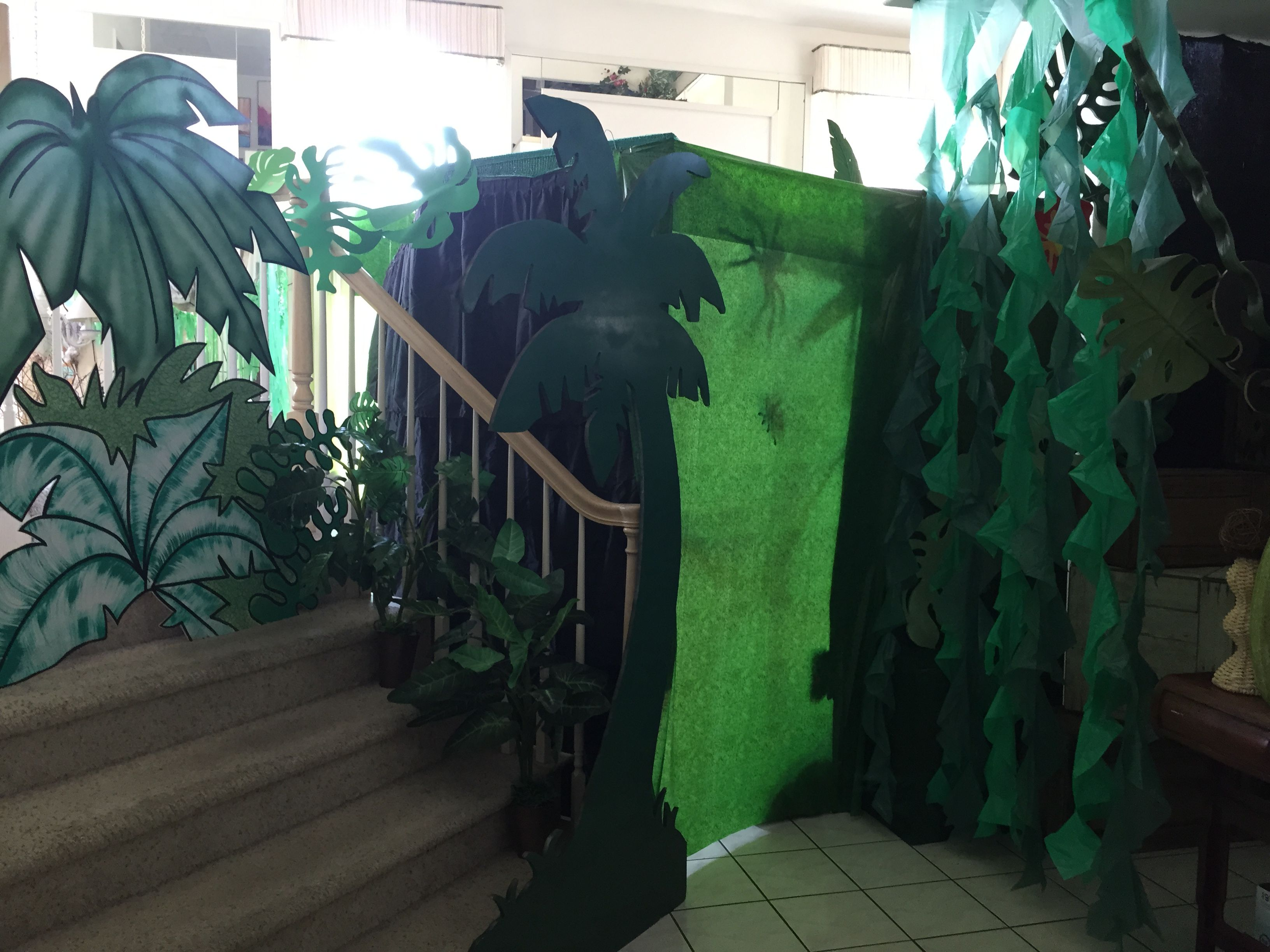 year i redid room classroom entire decor themed dsc jungle my this warriors welp little