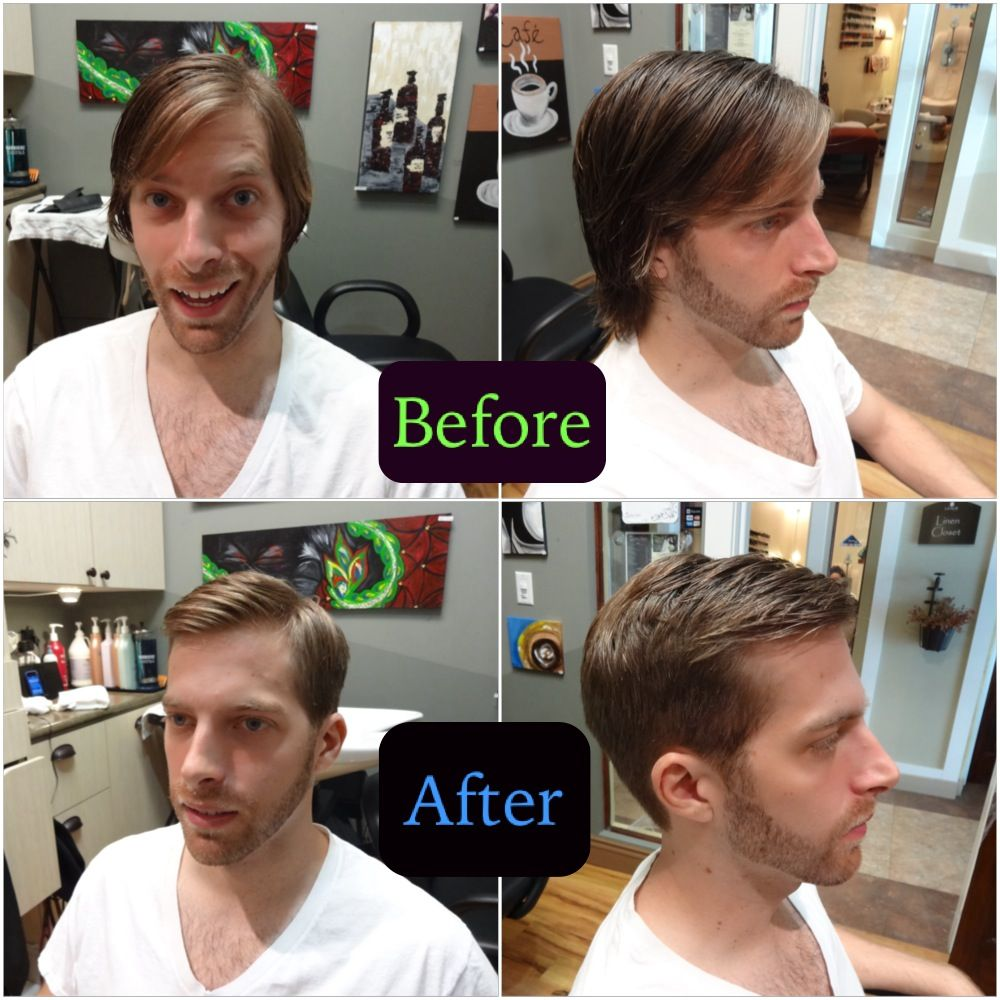 Www Clhairartstudio Com Mens Long Hair To Short Haircut With Clippers Fade Haircuts Menshair Hair Long Hair Styles Men Hair Transformation Mens Hairstyles