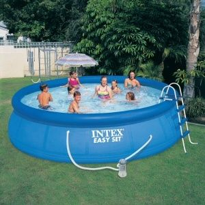 Intex Easy Set Pool Set 15 X 42 Above Ground Inflatable Swimming