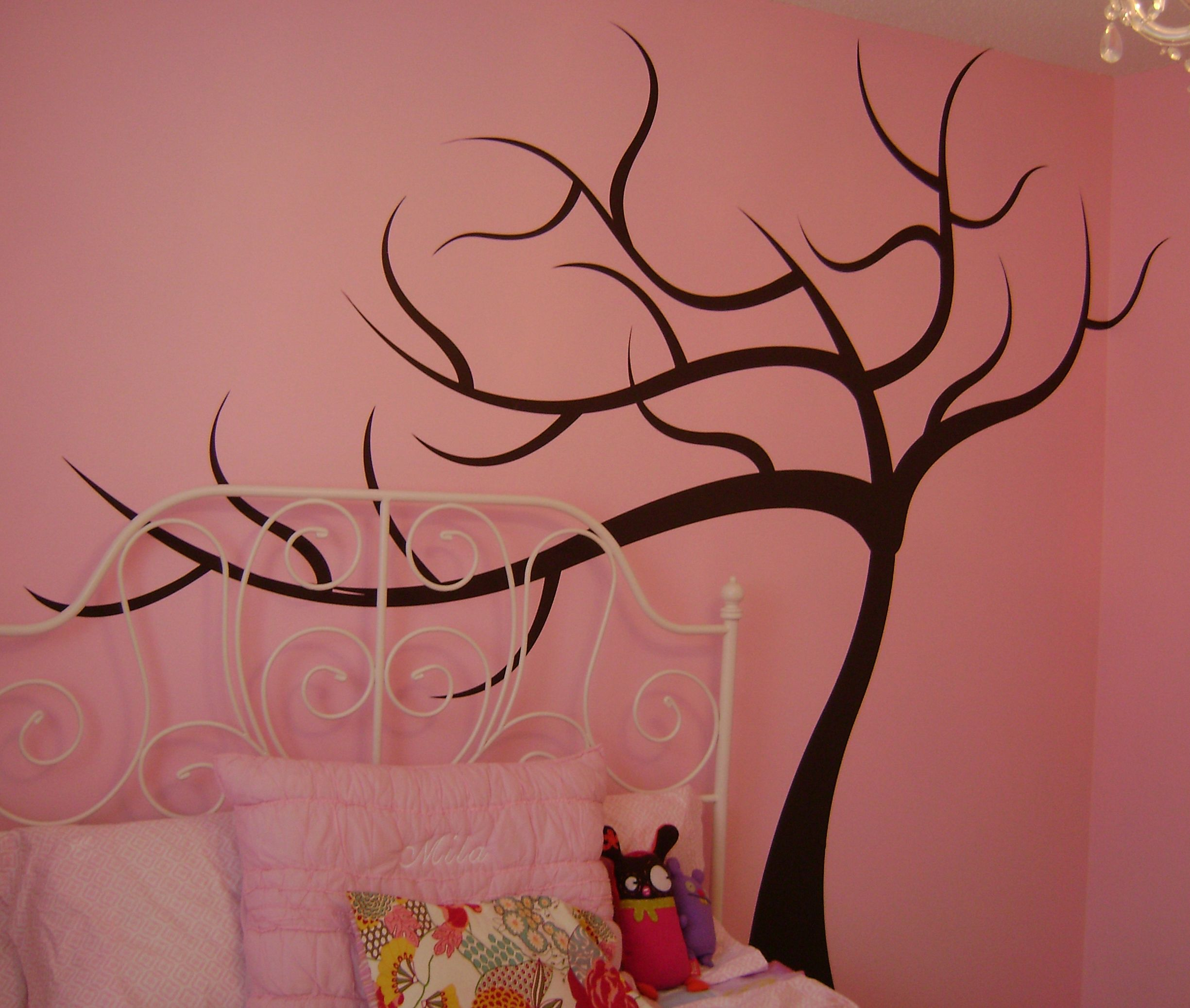 Wall Decal I Applied The Trunk Branches Of The Tree For The