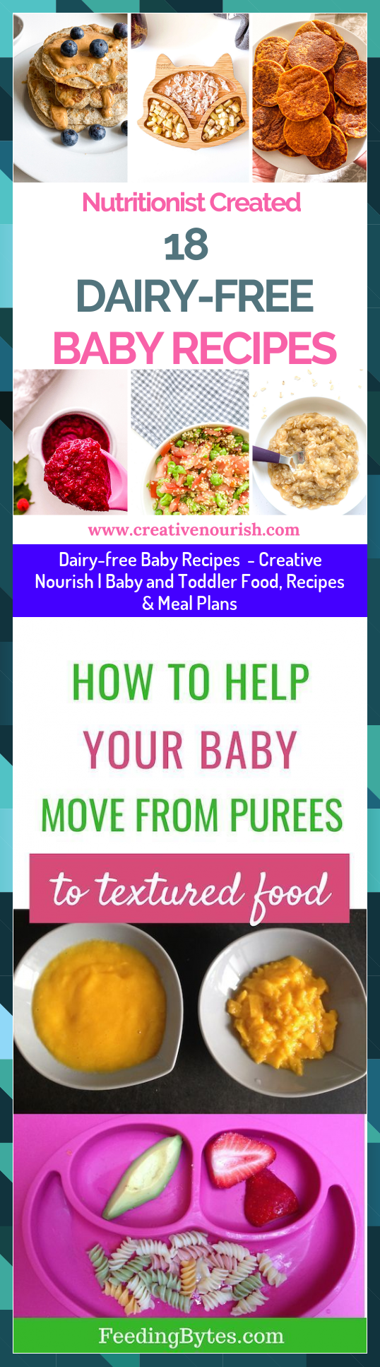 Dairyfree Baby Recipes  Creative Nourish  Baby and Toddler Food Recipes  Meal Plans