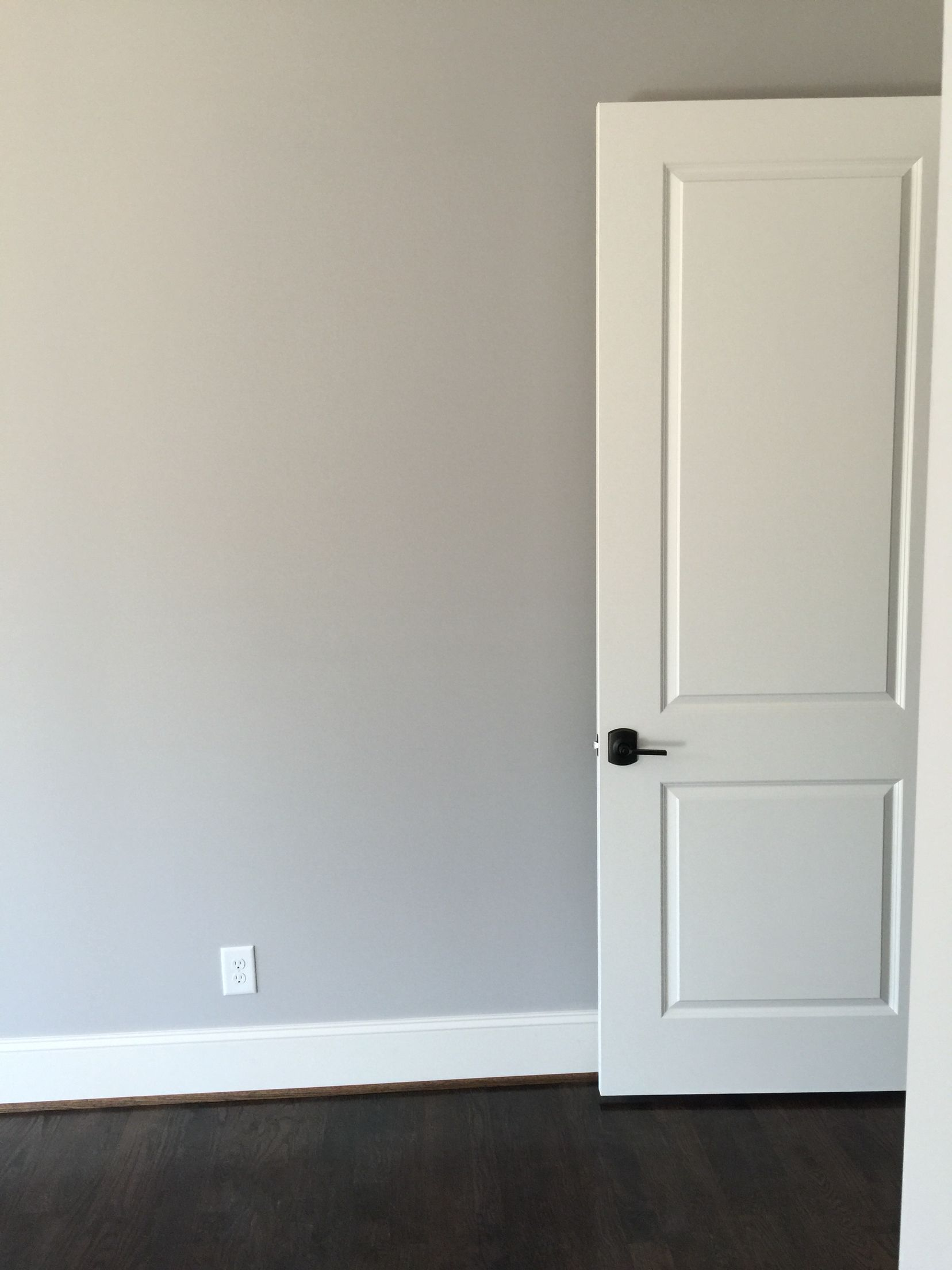 Sherwin Williams Knitting Needles Wall Color Alabaster Doors And