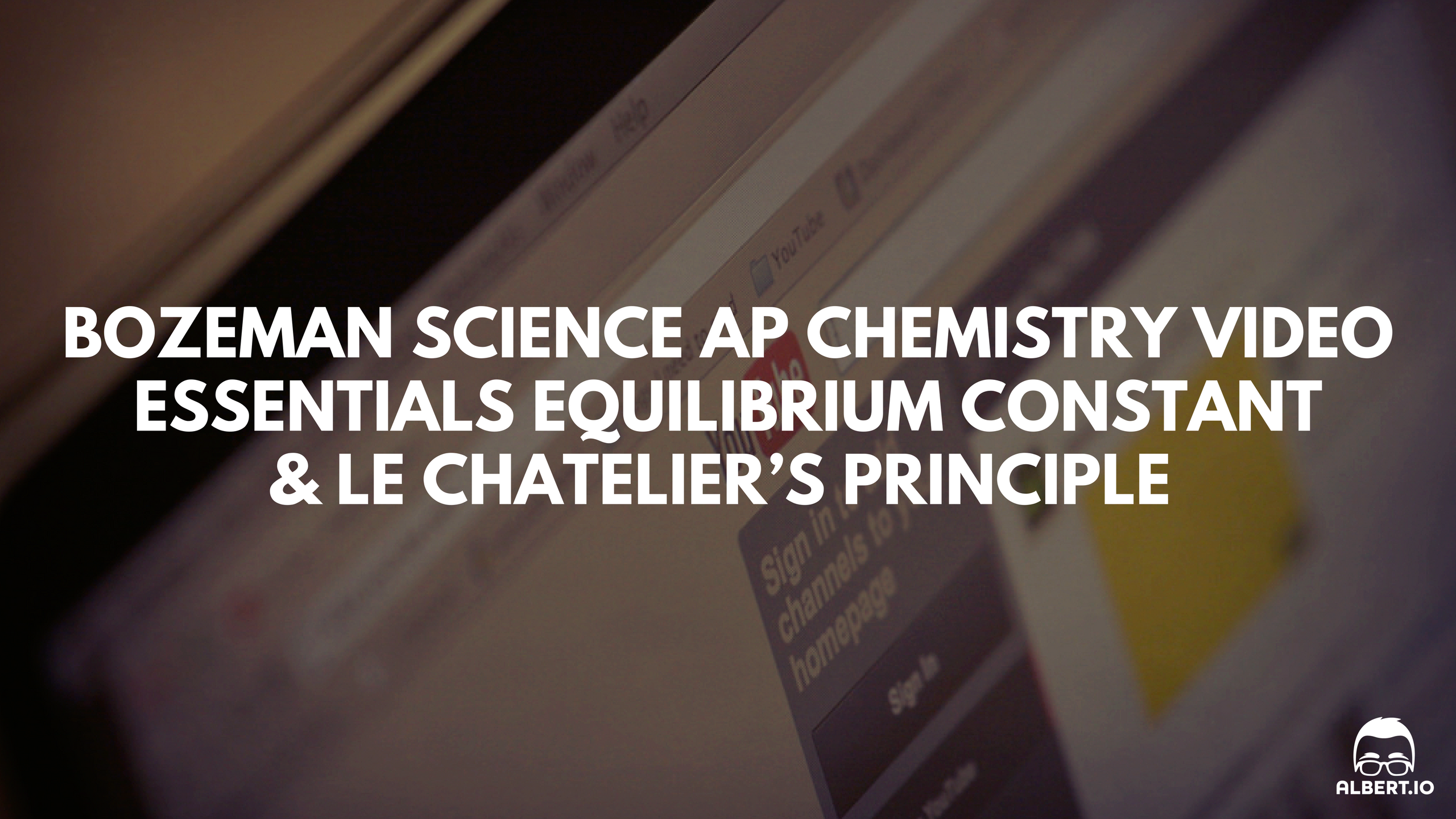 Best Ap Chemistry Review Videos Bozeman Science Ap