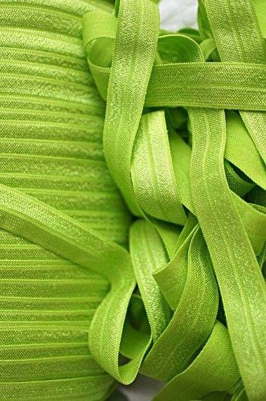 Lime Green Elastic