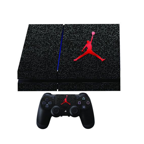 Jordan Premium Designer Limited Edition PS4 Skin 2 by PS4Skins