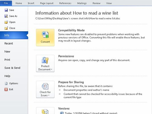 1eee71c785cd503a95206762b13de7e2 - How To Get An Older Version Of A Word Document