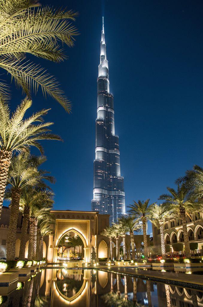 Burj Khalifa At Night By Edgar Moskopp Dubai City Dubai Tour Visit Dubai