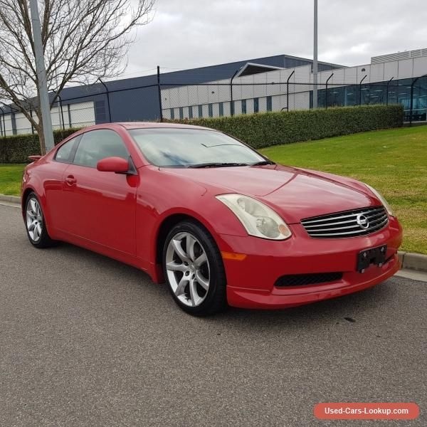 Car For Sale: Nissan Skyline V35 Coupe WIth Full Factory