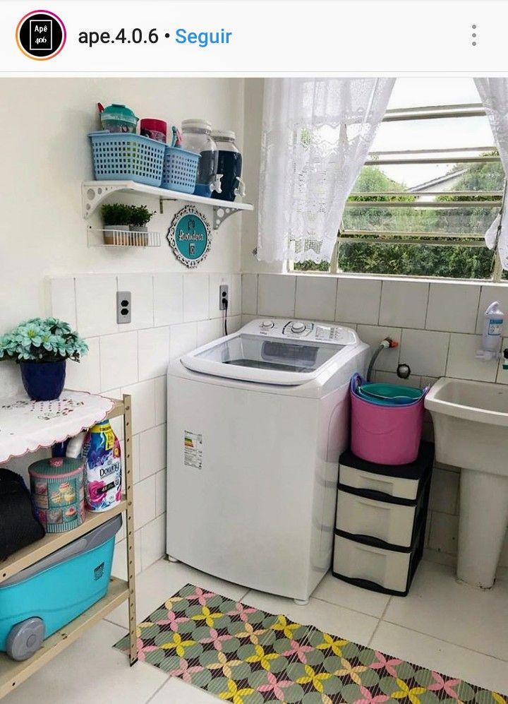 Lavanderia simples no quintal
