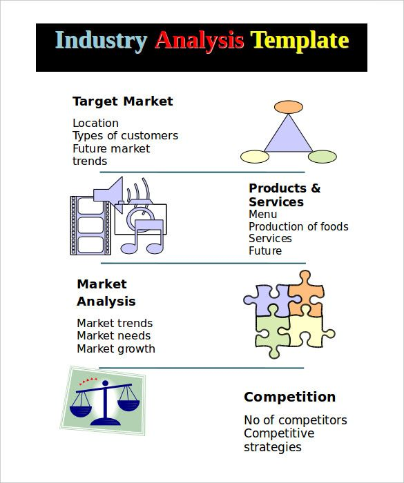 An Industry Analysis Template Pdf Is Useful For Conducting A