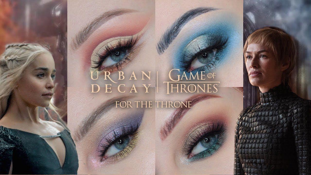 GAME OF THRONES URBAN DECAY MAKEUP COLLECTION -  GAME OF THRONES X URBAN DECAY MAKEUP COLLECTION – YouTube  - #CatEyes #collection #decay #Game #makeup #MakeupArtistKit #MakeupBrushes #MakeupCollection #MakeupKit #Sephora #thrones #urban