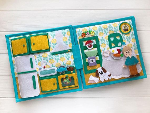 Doll House Quiet Book Quiet Book For Boy Personalized