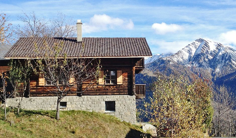 Josihaus, mountain chalet, Switzerland, Valais