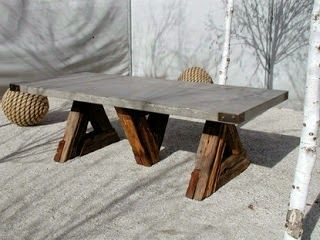 Amazing Mana Anna: Concrete Tables And How To Make Your Own, DIY