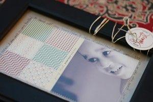 Cute hybrid idea for framing photos