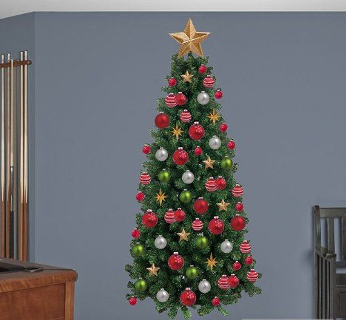 Christmas Tree Wall Decal 39 x 77in ** You can find out more details