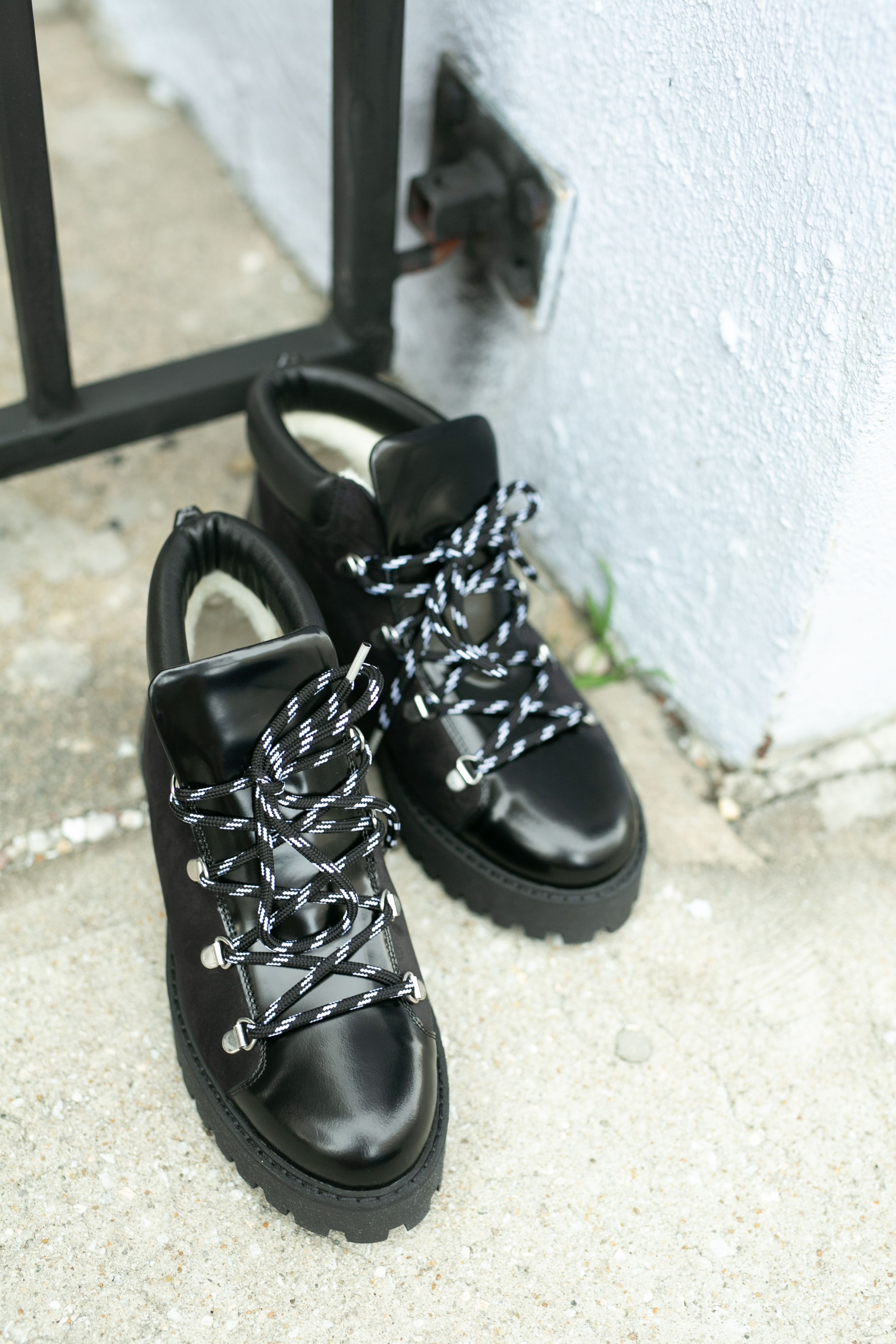 6086865cb5f Ganni Alma Boots   Hampden Favorites   Boots, Hiking boots, Black
