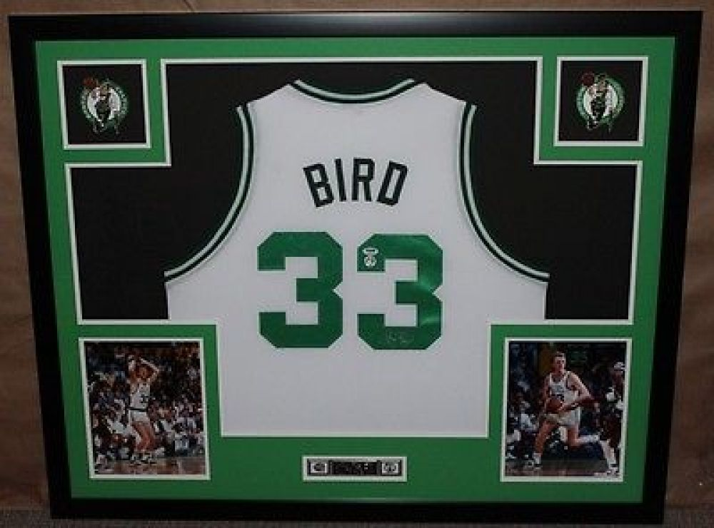 204b3c29234 Larry Bird Signed Celtics 35