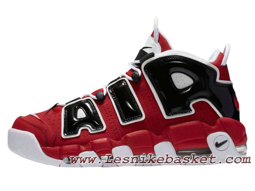 Homme Basket Nike Air More Uptempo Varsity Red 921948-600 Officiel Nike  2017 Pour Chaussures