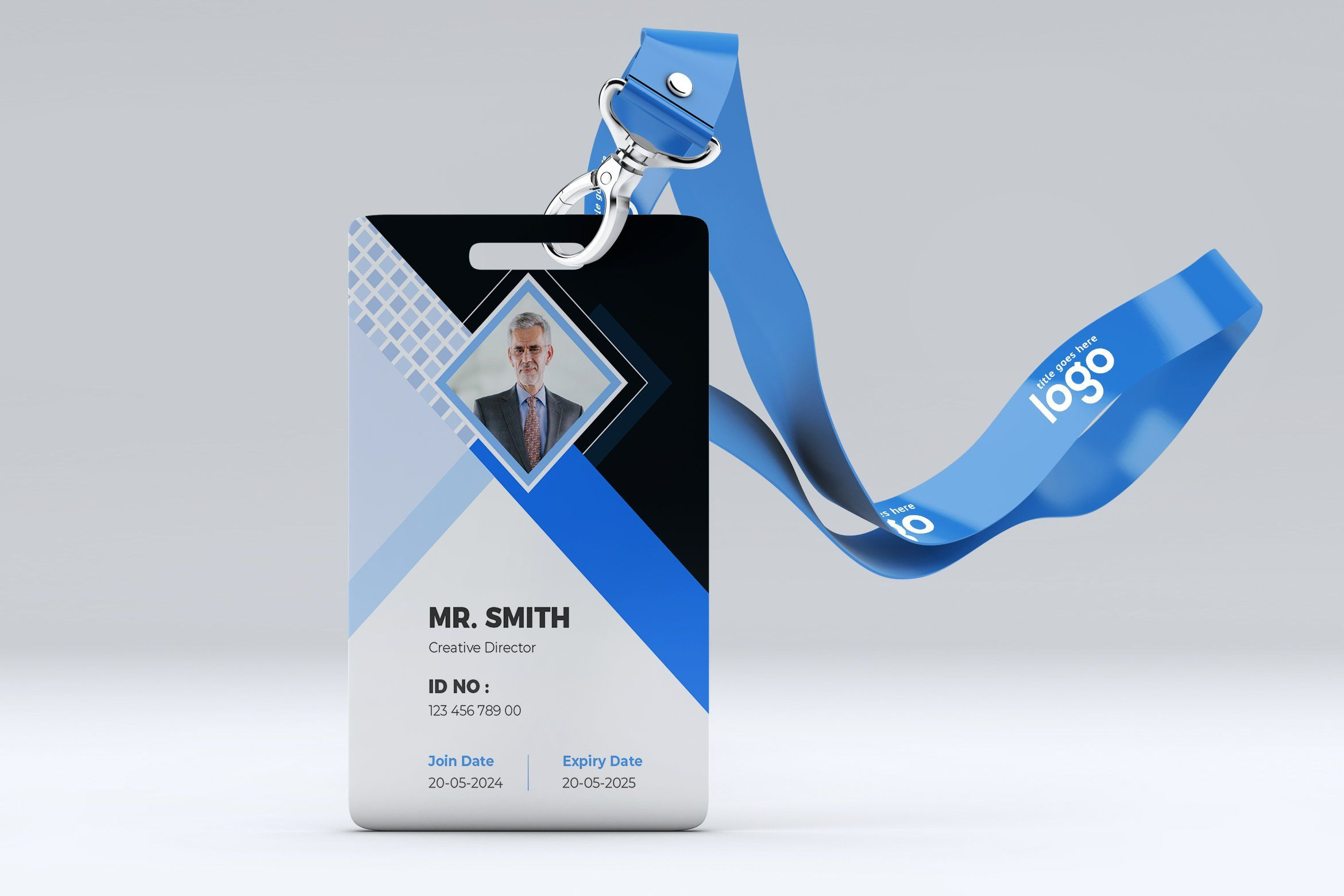 Id Card Template Design Id Card Template Graphic Design Business Card Card Design
