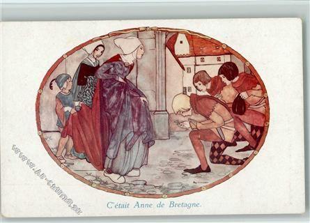 C était Anne de Bretagne - Mittelalter, Holzschuhe