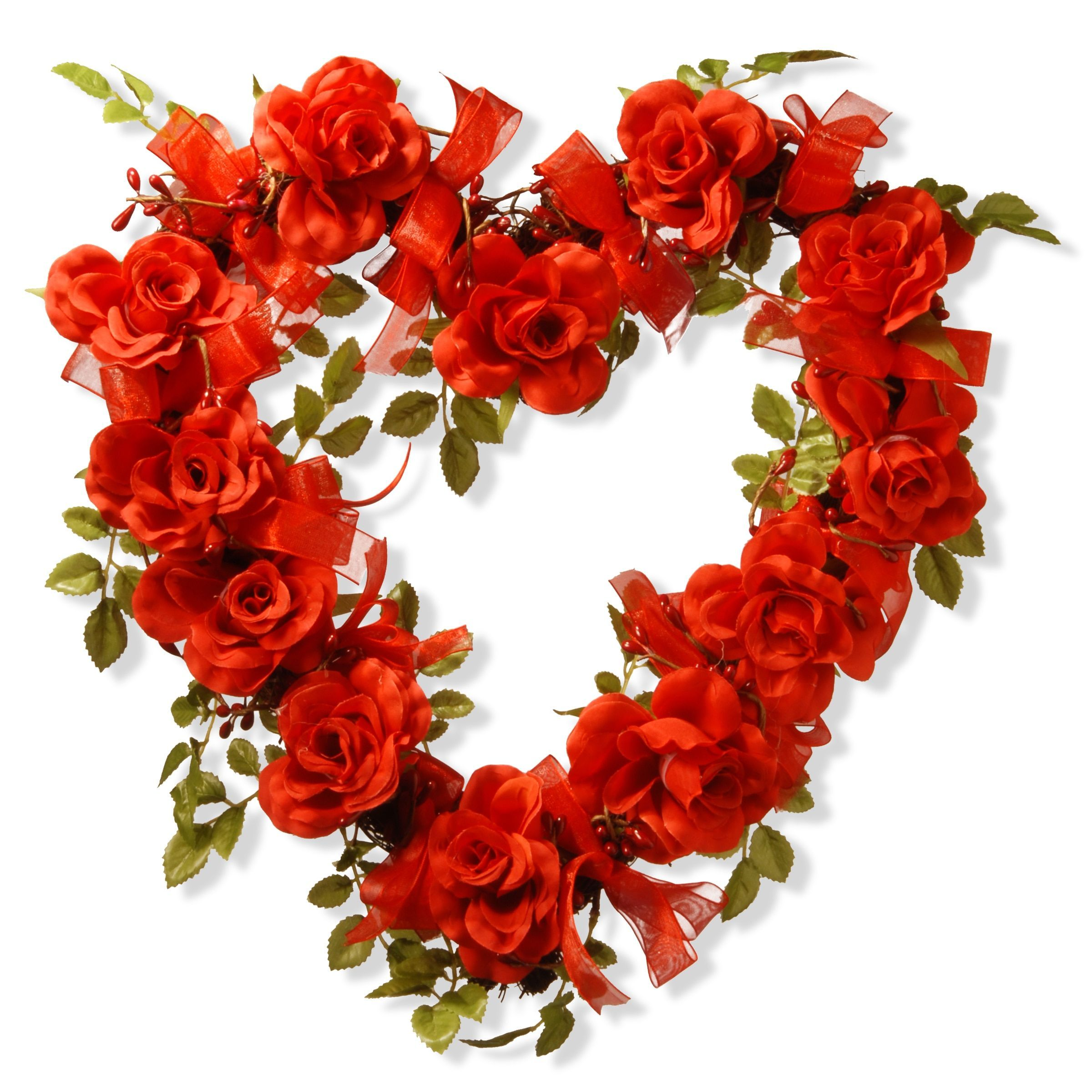 Overstock Com Online Shopping Bedding Furniture Electronics Jewelry Clothing More Heart Decorations Valentine Day Wreaths Rose Decor