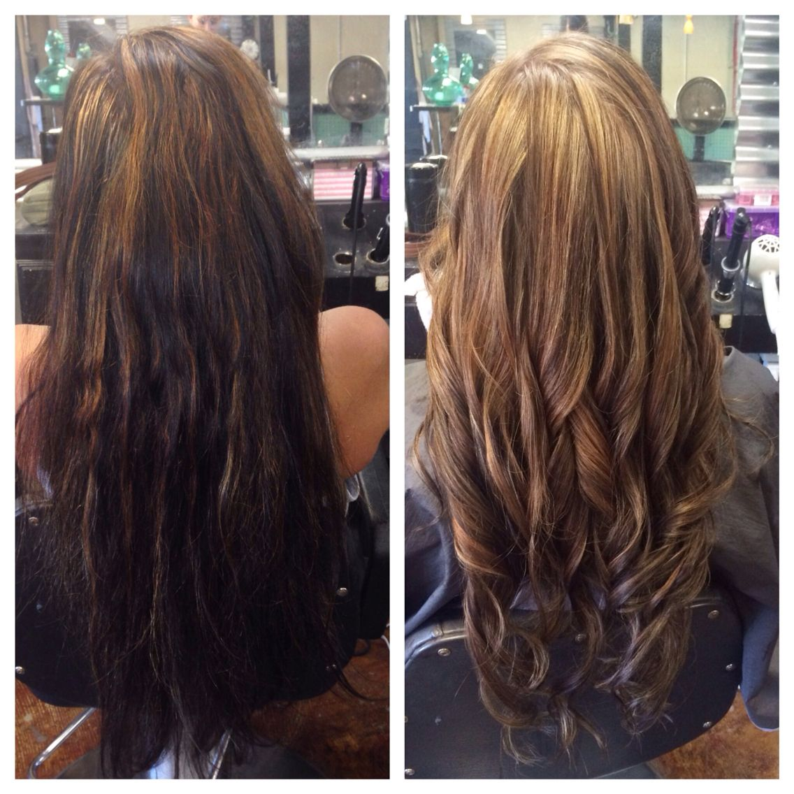 Before And After Highlights With Olaplex Madison Fuller Hair Co