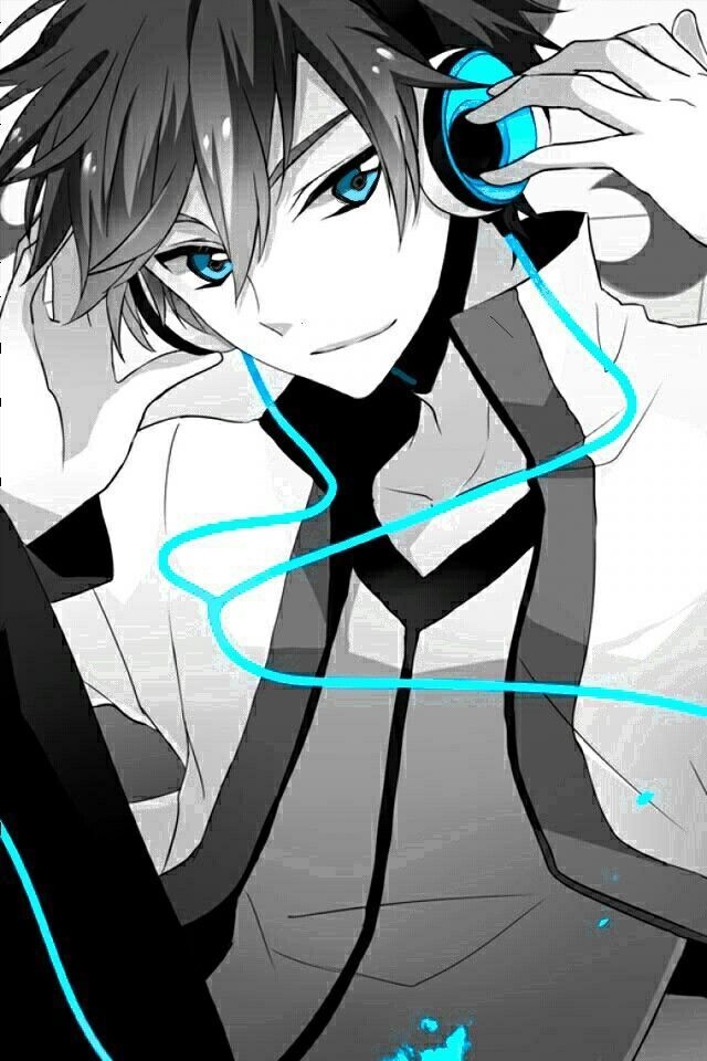 Anime Guy With Headphones Anime Boy With Headphones Cool Anime Pictures Cute Anime Guys
