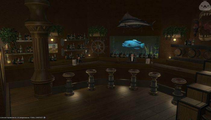 Fancy bar | FFXIV Housing Inspiration in 2019 | Bar, Ff14, Fancy