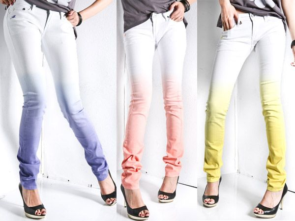 Dip-dyed Jeans