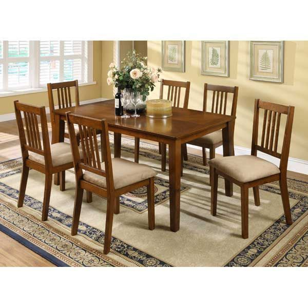 Charming Mission Style 7 Piece Dining Set By Condor Lovely Warm