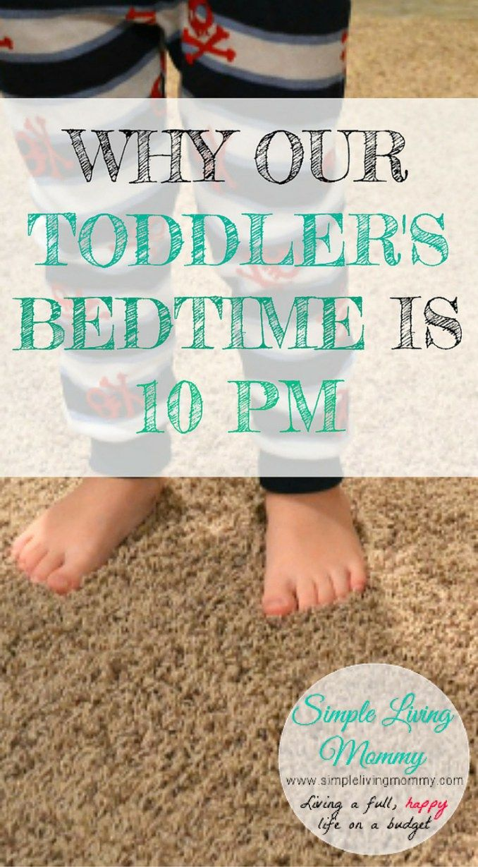 Why Our Toddlers' Bedtime is 10 pm! Toddler bedtime
