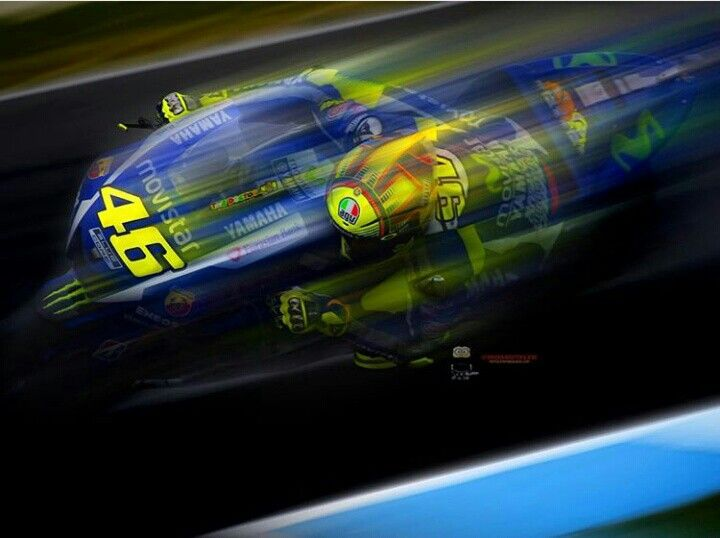 """Valentino Rossi deserves the """"People's Champ Award"""" in 2016 www.rossiaward.com photo Redghostonline"""