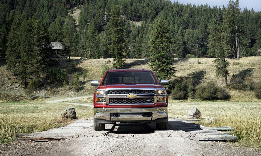 2014 Silverado Fullsize Pickup Truck Chevrolet http