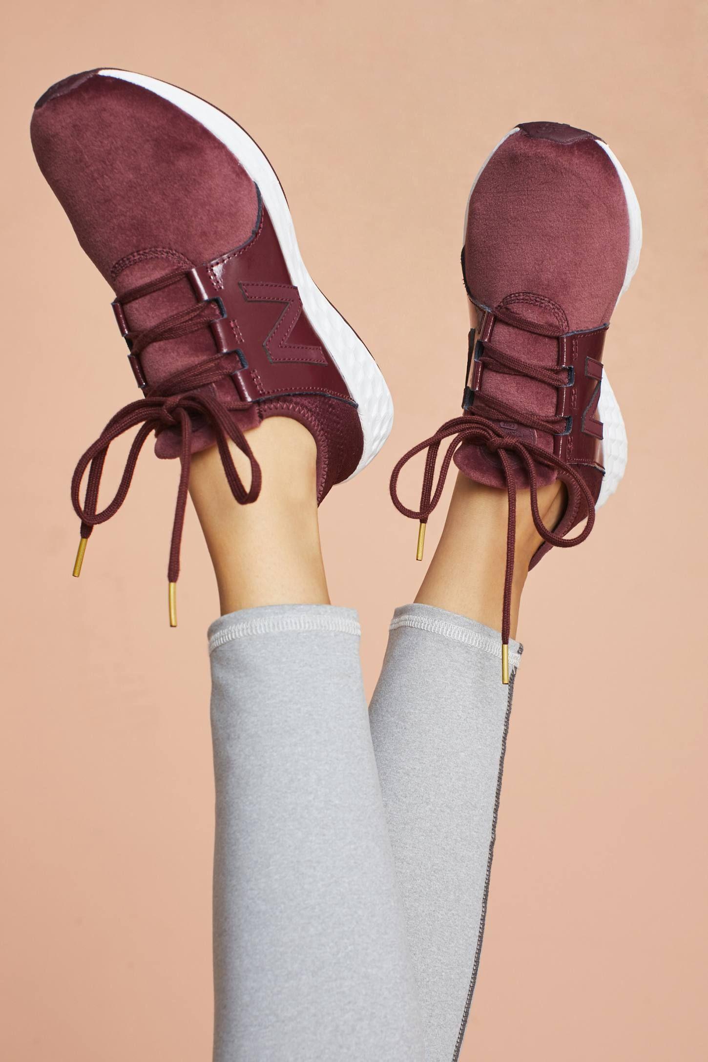 New Balance Velvet Cruz Sneakers Velvet sneakers, Womens